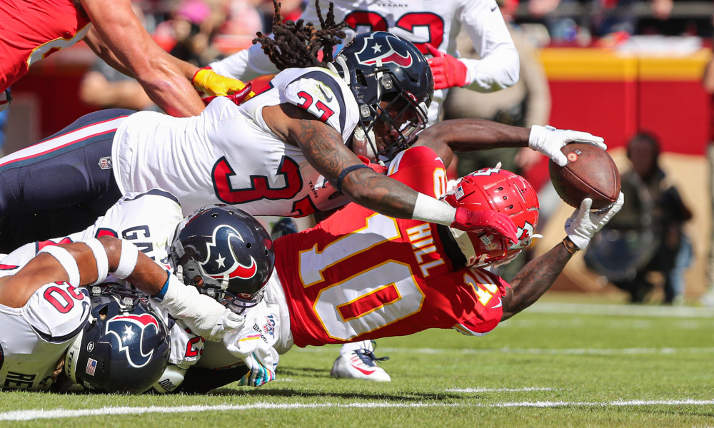 Game preview of the Chiefs and Texans